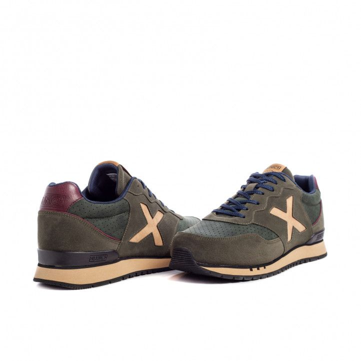 Zapatillas deportivas Munich dash premium 71 marrones - Querol online