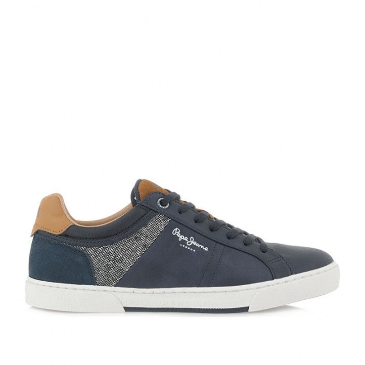 Zapatos sport Pepe Jeans azules rodney basic - Querol online