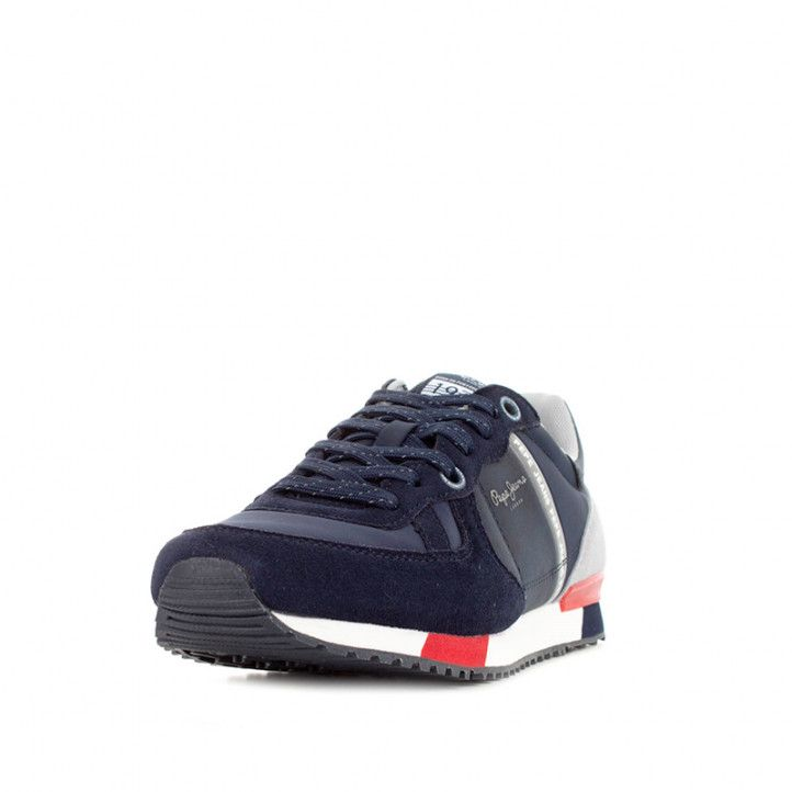 Zapatos sport Pepe Jeans zul marino tinker zero second - Querol online