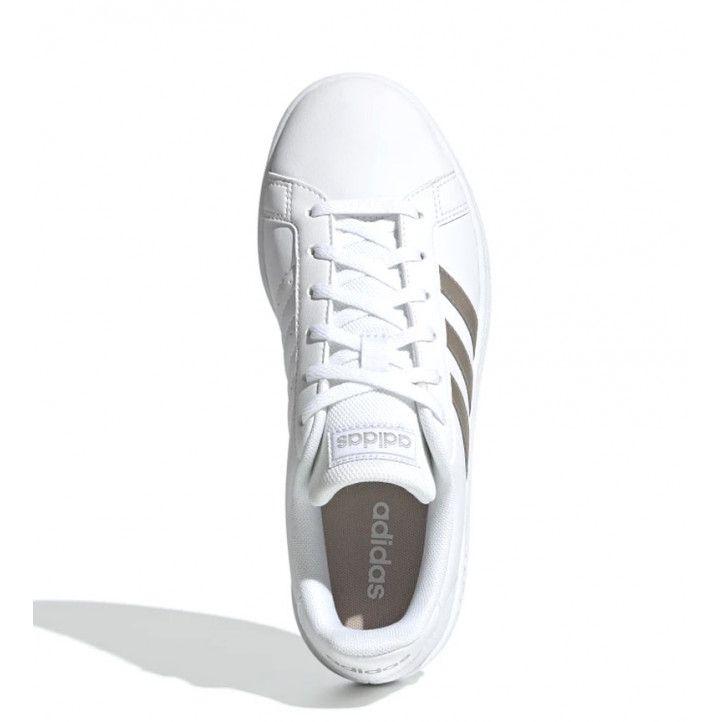 Zapatillas deportivas Adidas grand court blancas EE7874 - Querol online