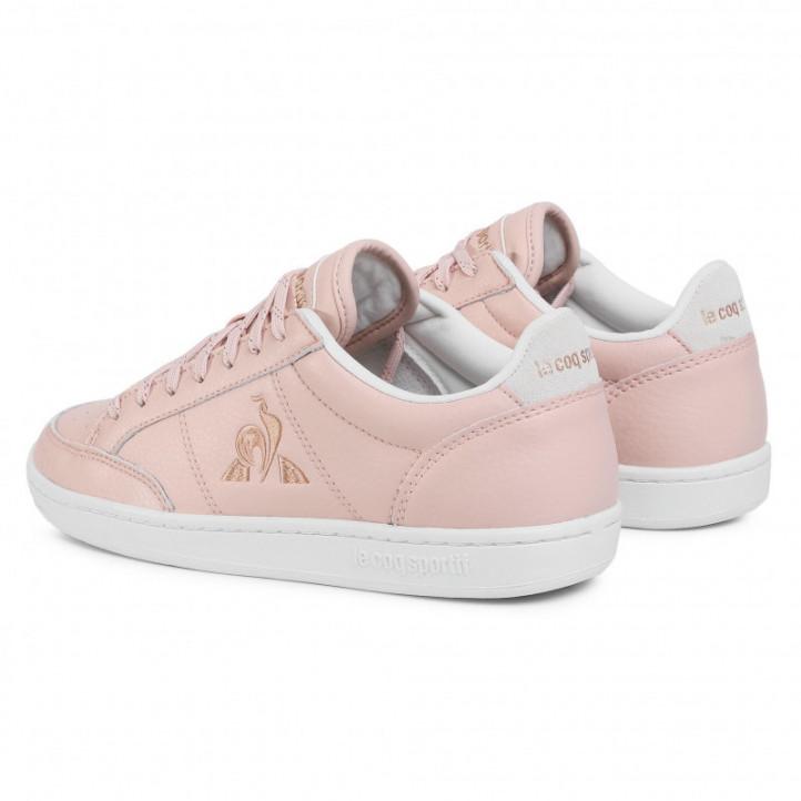 Zapatillas deportivas Le Coq Sportif court clay pink w - Querol online