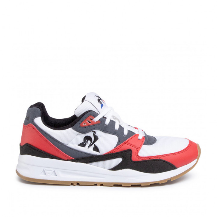 Zapatillas deportivas Le Coq Sportif lcs r800 2010178 optical white/pure red - Querol online