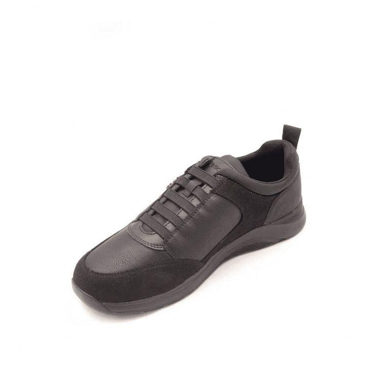 Zapatos sport Geox negros damiano - Querol online