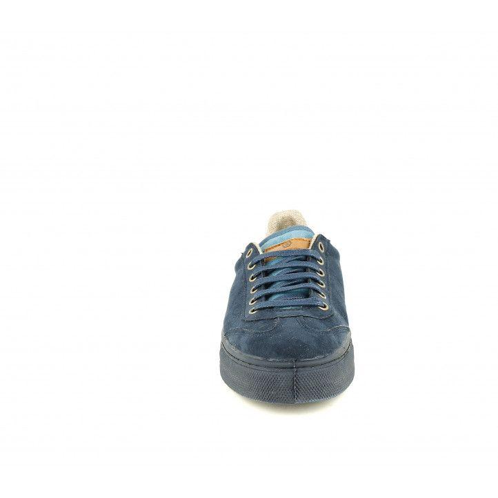 Zapatos sport SHOECOLOGY azul oscuro con cordones - Querol online