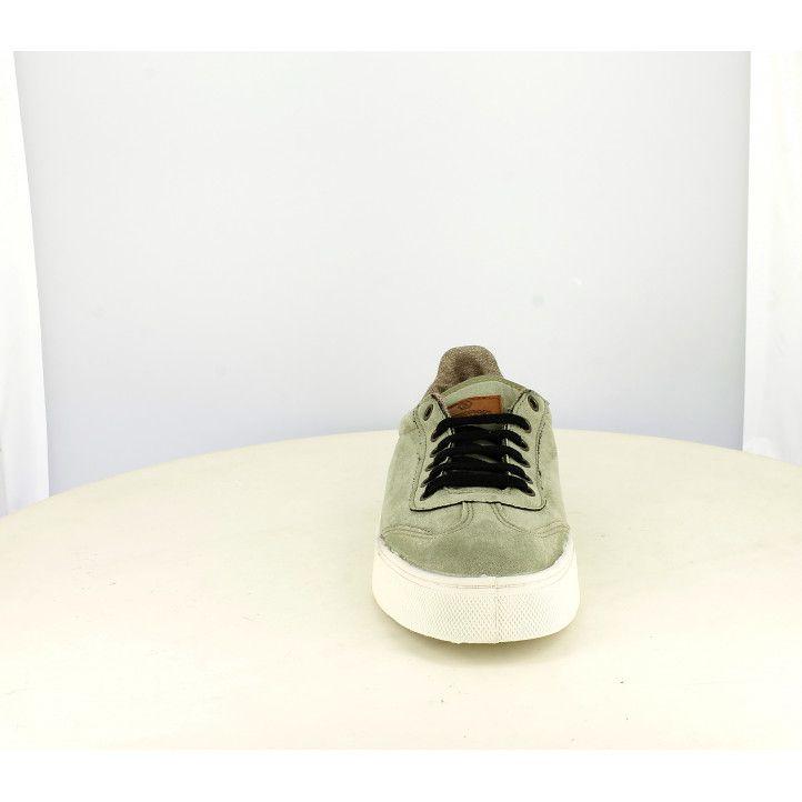 Zapatos sport SHOECOLOGY verde kaki con cordones - Querol online
