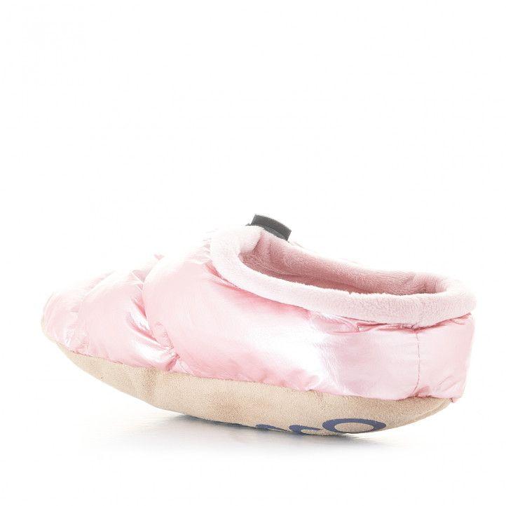 Zapatillas casa Nicoboco acolchadas rosas - Querol online