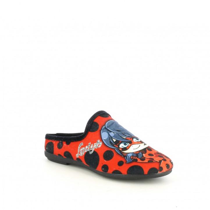 Zapatillas casa Duvic con dibujo de ladybug - Querol online