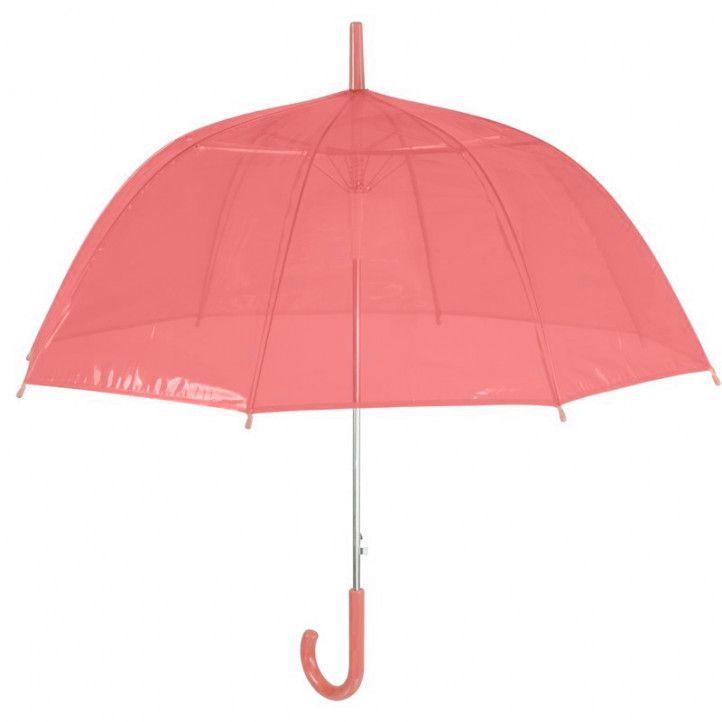 Paraigües PERLETTI vermell transparen - Querol online