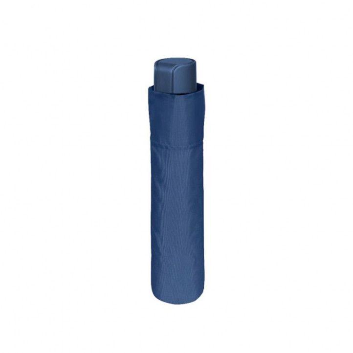Paraguas PERLETTI azul marino plegable - Querol online