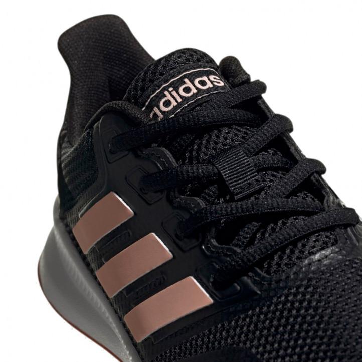 Sabatilles esportives Adidas runfalcon negres, blanques i roses - Querol online