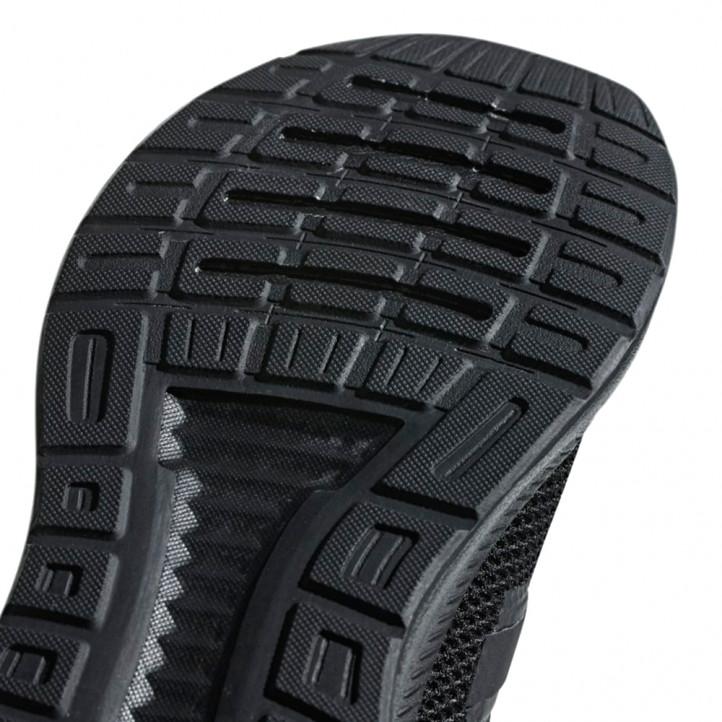 Sabatilles esportives Adidas negra runfalcon material molt lleuger - Querol online