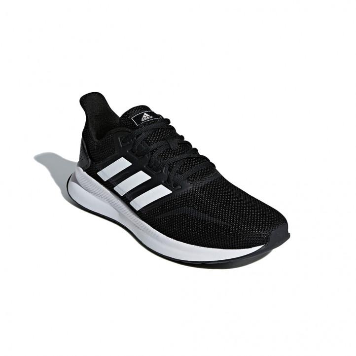 Sabatilles esportives Adidas runfalcon negres i blanques - Querol online