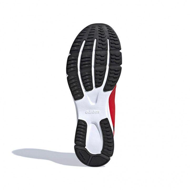 Zapatillas deportivas Adidas rojas nova flow - Querol online