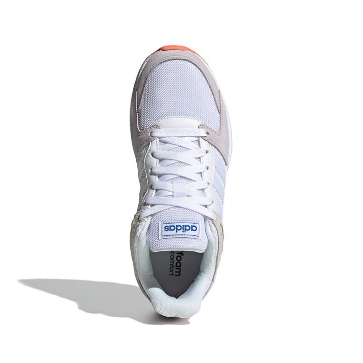 Zapatillas deportivas Adidas inspiración retro en tonos pastís - Querol online