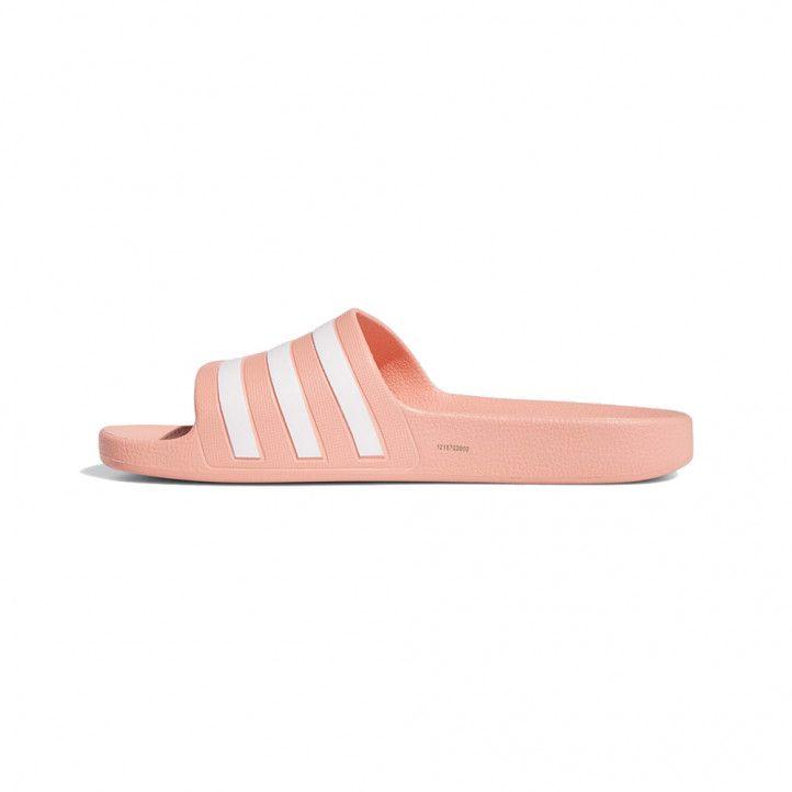 Xancles Adidas roses amb tres ratlles blanques - Querol online