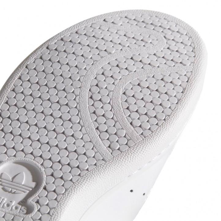 Zapatillas deportivas Adidas blancas con talón verde - Querol online