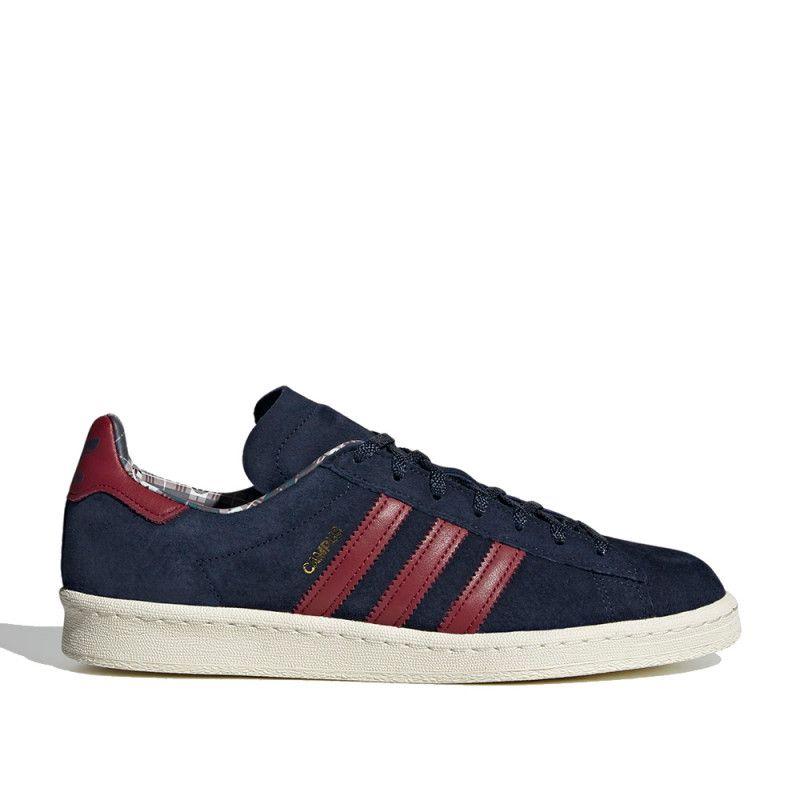 sólido Conjugado filtrar  Zapatillas deportivas campus 80s azules y rojas Adidas | Querol online