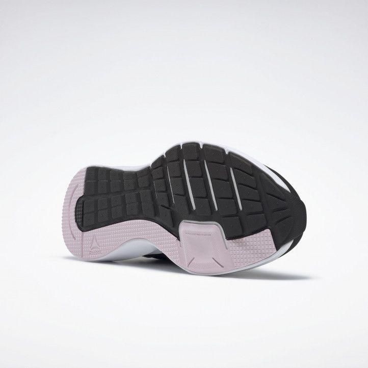 Sabatilles esportives Reebok negres amb detalls en gris i rosa 4.0 - Querol online