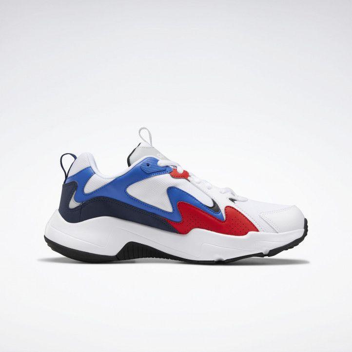 Sabatilles esportives Reebok blanques amb blau i vermell royal turbo impulse - Querol online