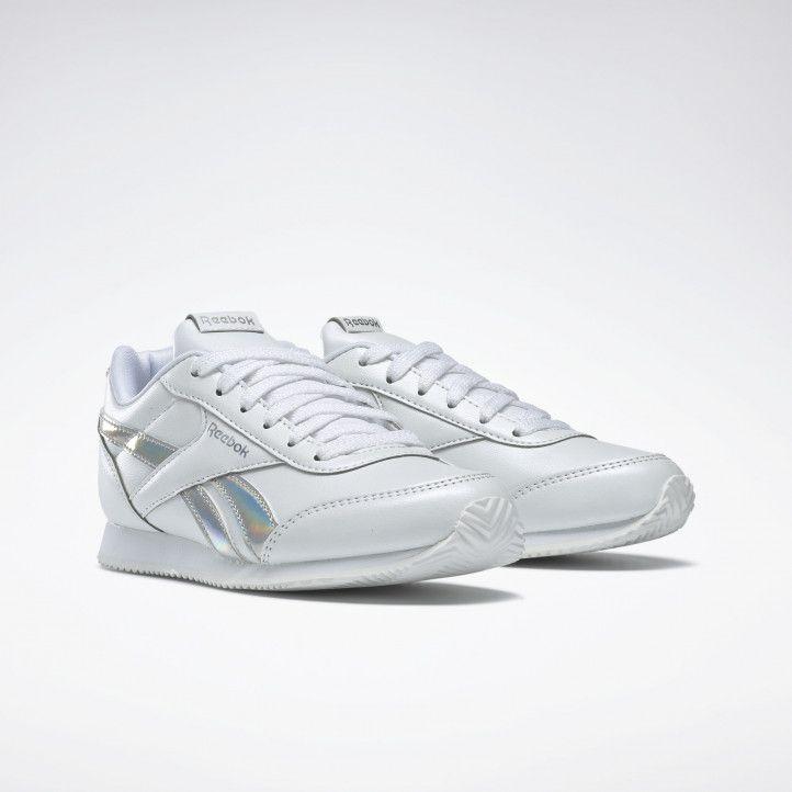 Sabatilles esportives Reebok blanques amb franges metal-litzades royal classic jogger - Querol online