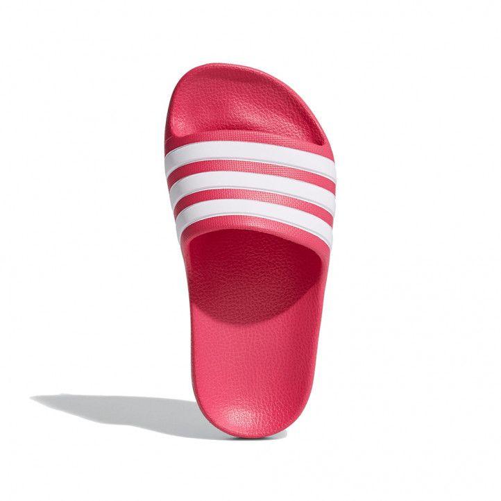 Xancletes Adidas roses amb pala de tres ratlles - Querol online