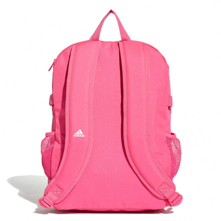 complementos ADIDAS mochila rosa con rayas blancas - Querol online