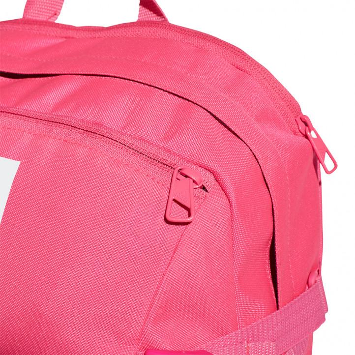 complements ADIDAS motxilla rosa amb ratlles blanques - Querol online