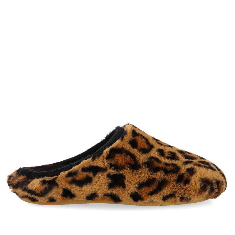 Gioseppo Zapatillas De Estar Por Casa De Leopardo De La Colección Especial Hot Potatoes Para Mujer
