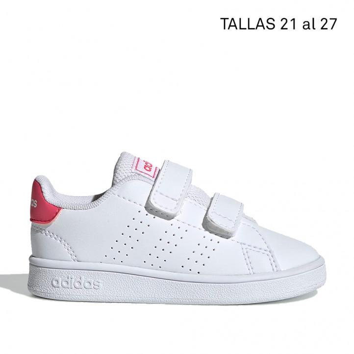 Sabatilles esport Adidas blanques i rosa advantage - Querol online