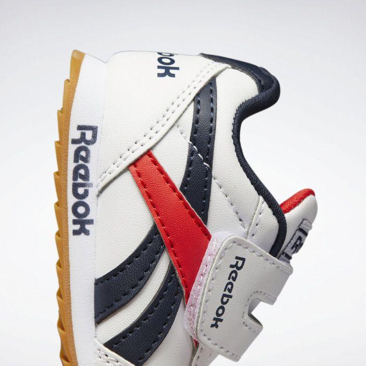 Zapatillas deporte Reebok blancas atadura con velcro royal classic jogger - Querol online
