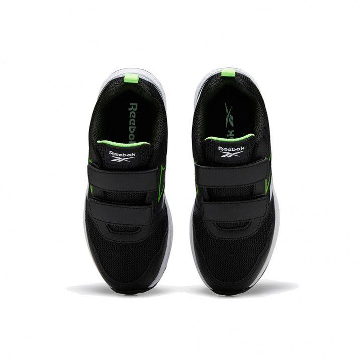 Sabatilles esport Reebok negres amb detalls en blanc i verd - Querol online