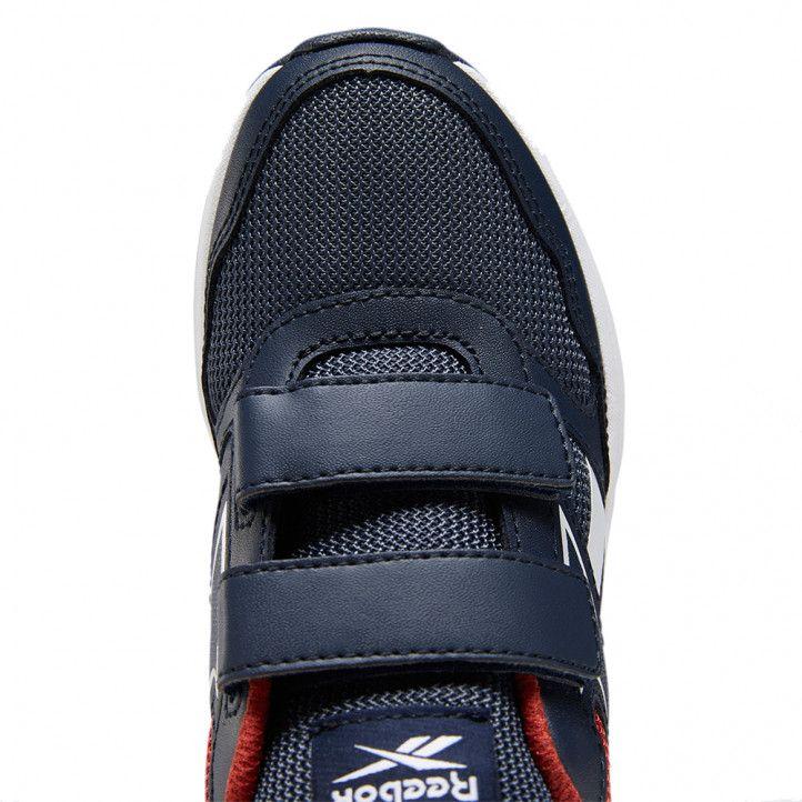 Zapatillas deporte Reebok azul marino con rojo almotio - Querol online