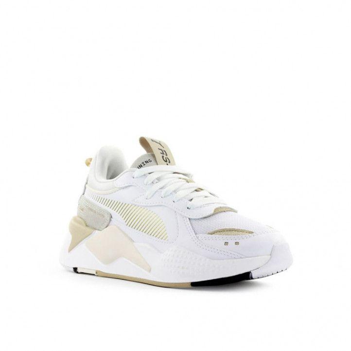 Zapatillas deportivas Puma rs-x mono metal white gold - Querol online