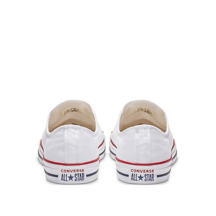 Zapatillas lona Converse chuck taylor all star classic low top blancas - Querol online