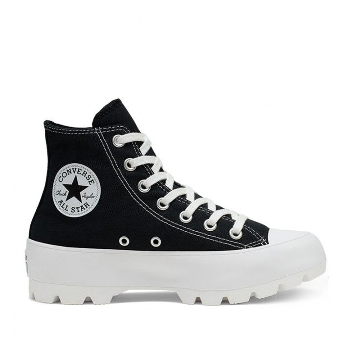 Sabatilles lona Converse chuck taylor all star high top negres