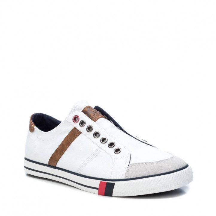 Zapatillas lona Xti blancas - Querol online