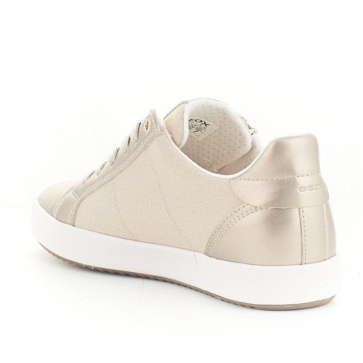 Zapatillas Geox cremallera lateral y detalles metalizados - Querol online