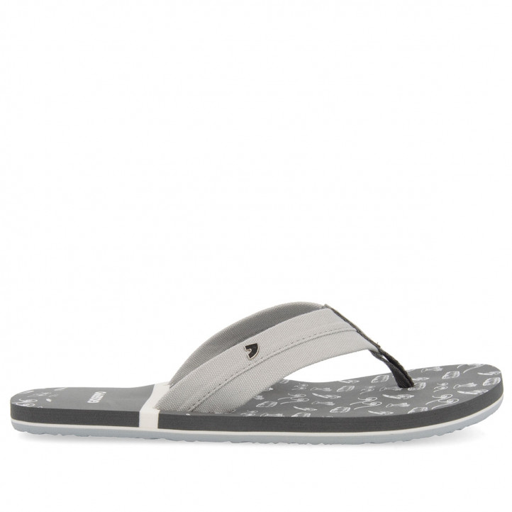 GIOSEPPO CHANCLAS GRISES PARA HOMBRE ISEO - Querol online
