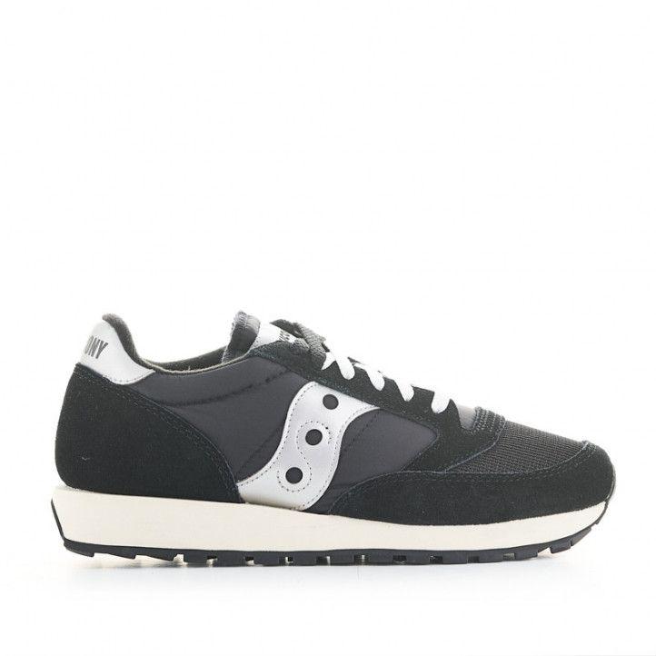 Zapatillas deportivas SAUCONY jazz original negra y blanca - Querol online