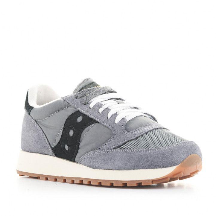 Zapatillas deportivas SAUCONY jazz original gris y negra - Querol online