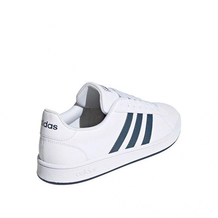 Zapatillas deportivas Adidas grand court base blanca - Querol online