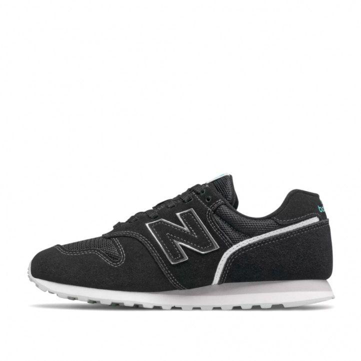 Zapatillas deportivas New Balance 373 black with white - Querol online