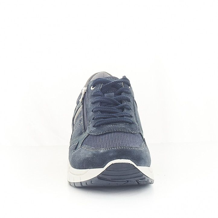 Sabates sport Imac blaves amb cremallera lateral - Querol online