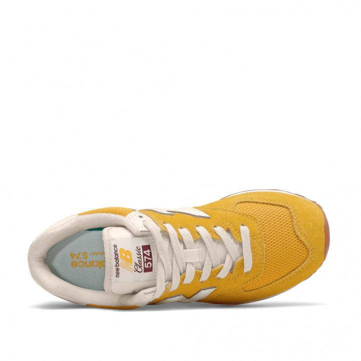 Zapatillas deportivas New Balance 574 varsity gold - Querol online