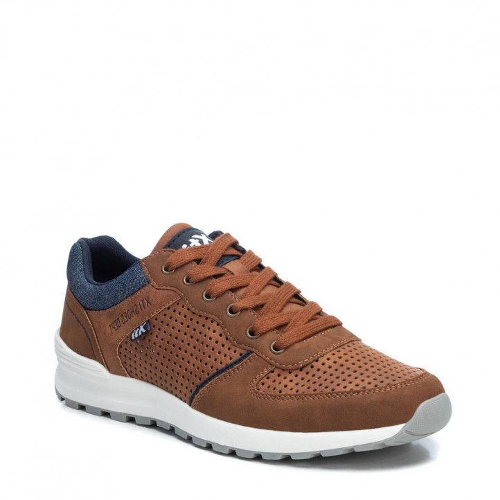 Zapatos sport Xti 04266001 con detalle tejano - Querol online