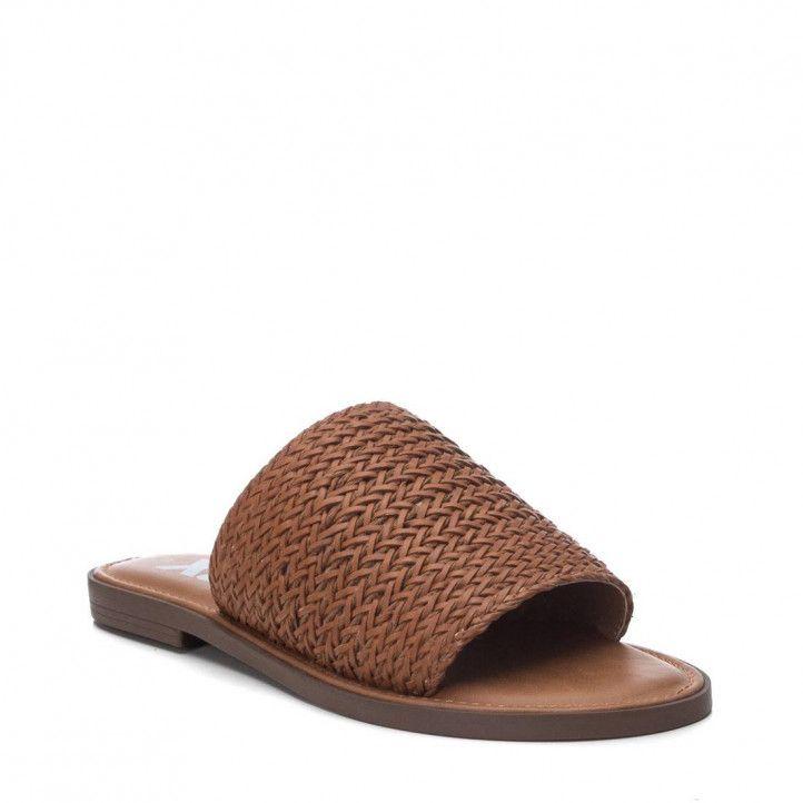 Sandàlies planes Xti 04273401 marrons - Querol online