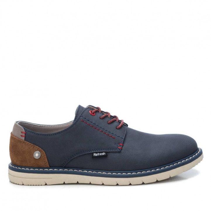 Zapatos vestir Refresh 07294402 navy - Querol online