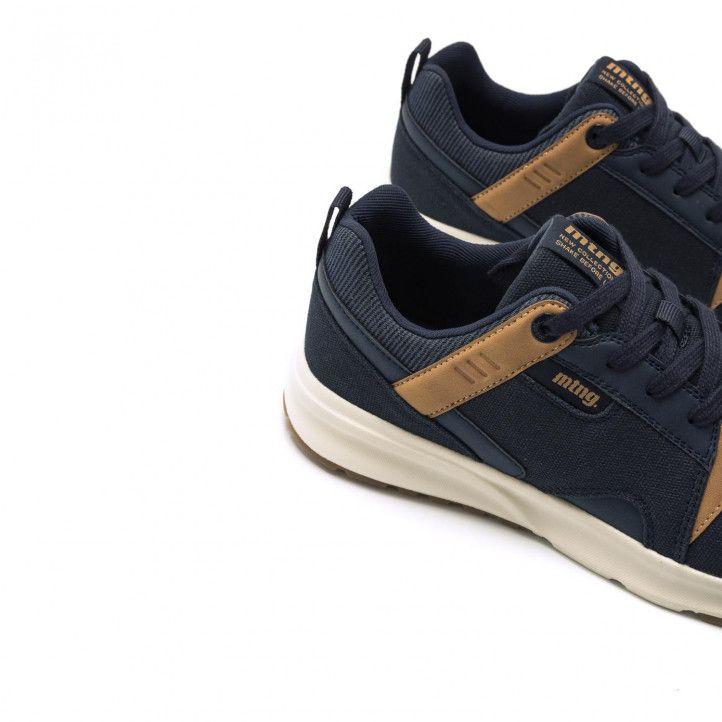 Zapatos sport Mustang en color azul marino combinada - Querol online