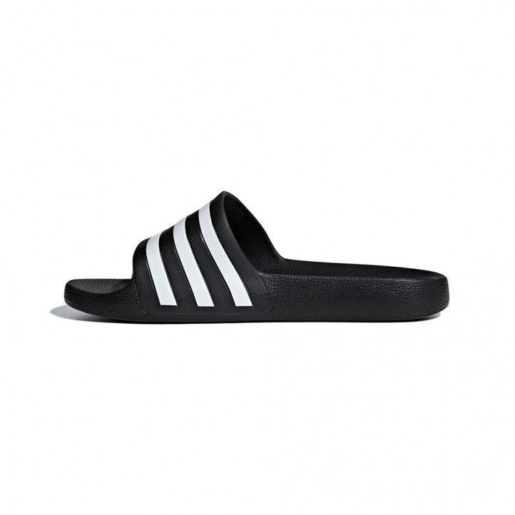 Xancles Adidas negres i blanques tres ratlles - Querol online