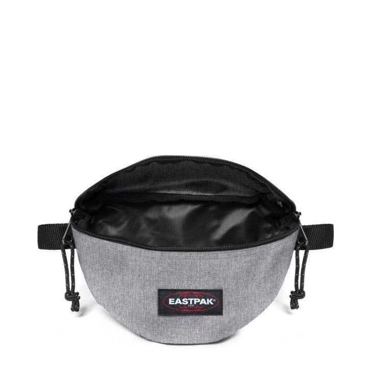 Riñonera Eastpak gris con compartimento frontal - Querol online